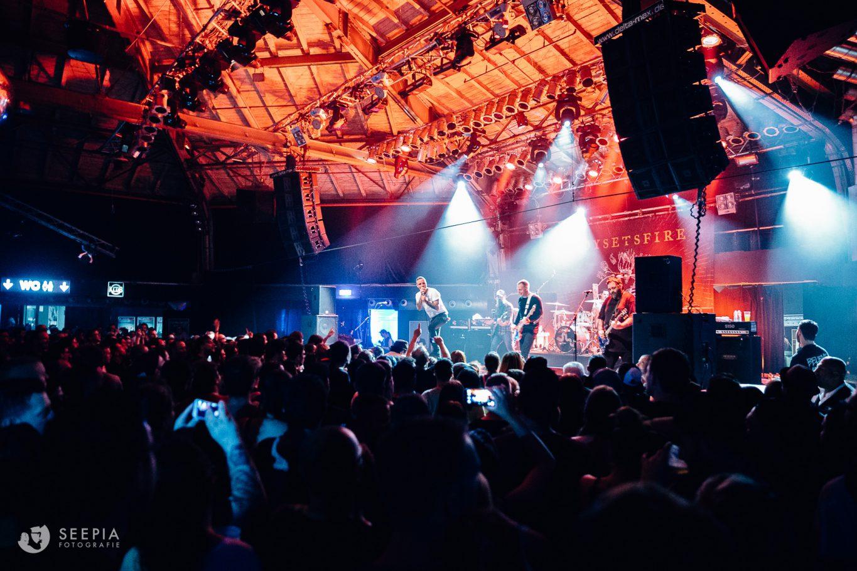 Saarbrücken, Saarland, Seepia Fotografie, Seepia, Fotografie, Garage, BOYSETSFIRE, Live, Konzert